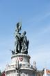 Statue de la Grand Place de Bruges