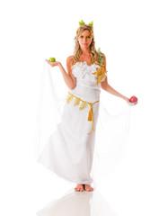 Beautiful Greek goddess