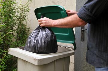 La corvée de poubelle