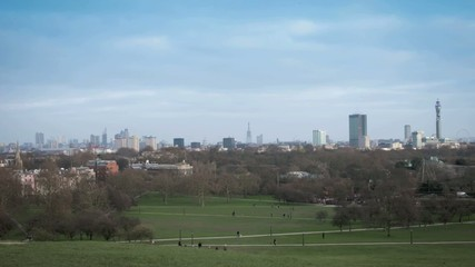 Timelapse (filtered) form Primrose HIll