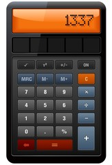 Classic Accounting Calculator