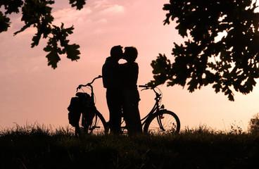 Fahrradtourismus Liebe