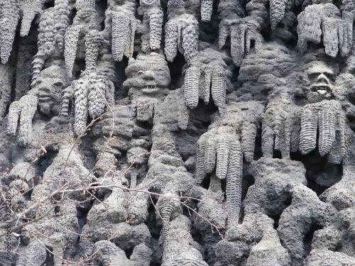 Figuras de piedra en el jard n del palacio de wallenstein - Figuras jardin piedra ...