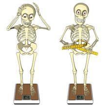 Utrata masy ciała, bulimia, anoreksja, dieta, moda ... ilustracja