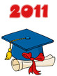 Graduate Cap With Diploma 2011