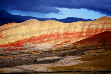 Light on Painted Hills