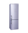 two door freezer with the clipping path