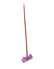 mop with wringer isolated on white