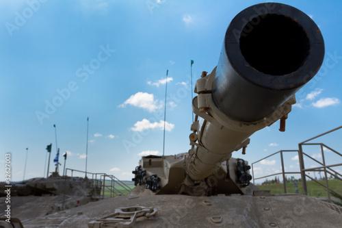 Muzeum czołgów. Izrael.