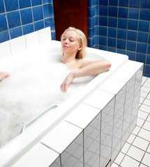 Relaxing Bath Woman