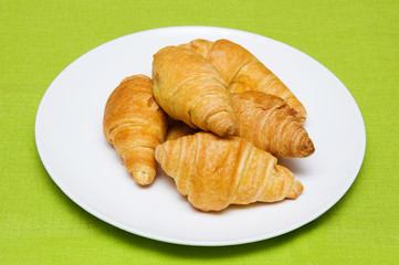 five croissants