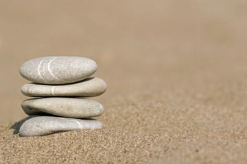 Steine am Strand | Sand