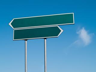 Double signpost