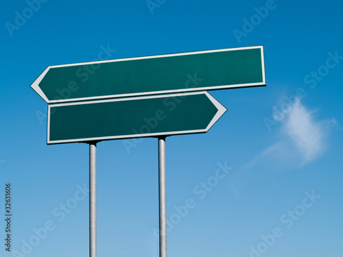 Double signpost