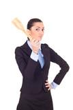 businesswoman authority poster