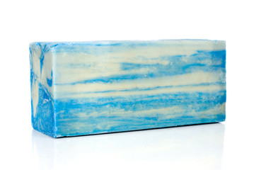Blue Soap Bar