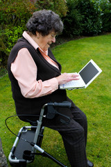 oma rollator laptop