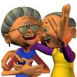 Oma und Opa können lachen