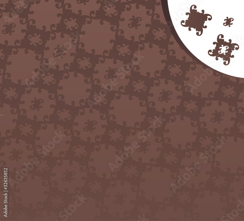 Victorian background pattern