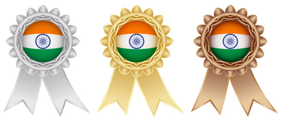 indian medal labels