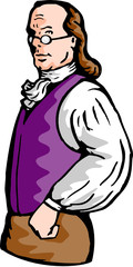 Benjamin Franklin noble aristocratic gentleman
