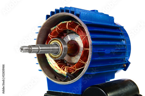 Motor, isolated on a white background