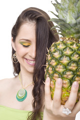bellissimo beauty con ananas