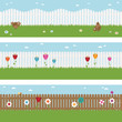 picket fence banners