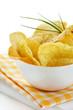 Delicious potato chips.