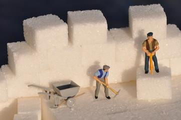 Zucker abbauen