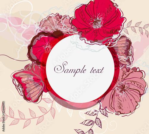 Foto op Canvas Bloemen vrouw Pink flowers