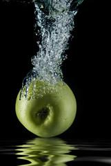 Reflejos de manzana.