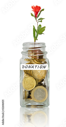 Jar for donation