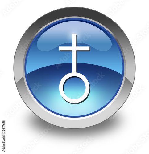 "Glossy Pictogram ""Church"""