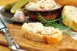 Baguette mit Schmalz