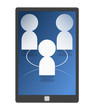 social network - mobile phone