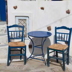 Bar de Pyrgos, Santorin