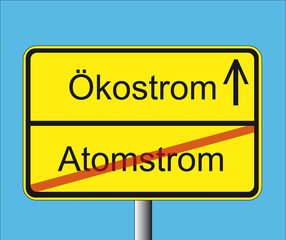 Atomstrom-Ökostrom