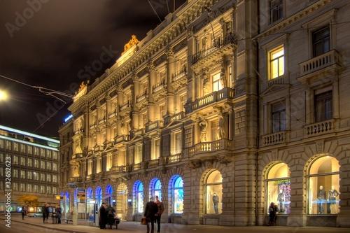Zürich am Abend