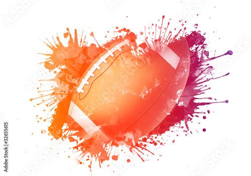 American Football Ball - 32655615