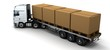 HGV Truck Shipping Cardboard Boxes