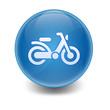 Esfera brillante ciclomotor