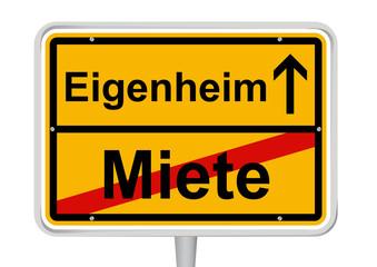 Miete / Eigenheim