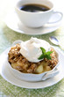 Apple Crisp & Coffee