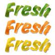 "Citrus ""Fresh"". Illustration."