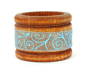 Single Wooden Napkin Ring