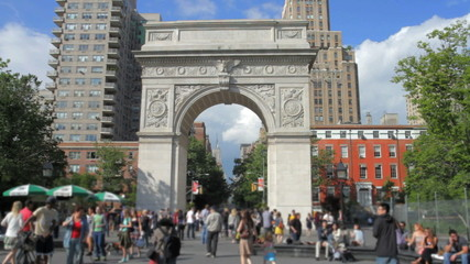Washington Square Park in New York