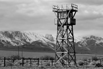 Guard Tower at Manzanar
