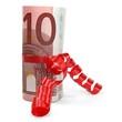 Eurogeschenk 10 Euro stehend
