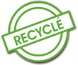 bouton recyclé